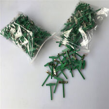 Corsage Clip Pins Plastic Wedding Corsage Clips Pin for Buttonhole Flowers #F1~