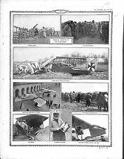 Aéros Luftstreitkräfte Albatros Aviatik Abattus Paris Cour  Invalides 1915 WWI