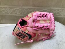 """Franklin 4528 Girl's Pink  9.5"""" Youth Baseball T-ball Glove Right Hand Throw"""