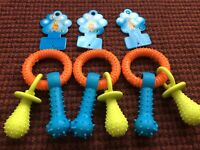 Dog Cat Toy Ring Toy Dental Teething Healthy Teeth Gums Chew Toy Durable Rubber