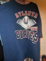 Vintage 1994 Atlanta Braves Team Rated XL T-Shirt USA Made