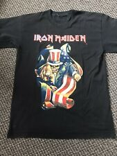 Iron Maiden Vintage L Eddie Wants You USA Tour T Shirt Best Of The Beast