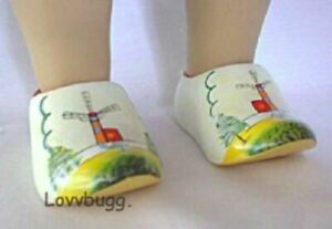 Dutch ''Wooden'' Clogs for American Girl 18 inch Doll Clothes LOVV DAT LOVVBUGG!