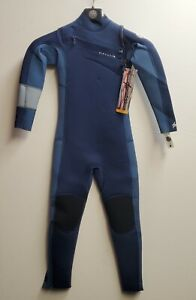 RIP CURL Youth 3/2 Junior AGGROLITE Chest-Zip Wetsuit - NAV - Size 8 - NWT