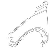 wing mirrors accessories for 2016 mazda cx 3 ebay Mazda CX- 5 Interior genuine new front wing fender passenger n s left mazda cx 3 2016 onwards