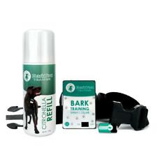 Barktec Bt100 Dog Training Anti Bark Control Citronella Spray Collar With Refill