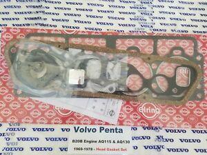 Volvo Penta AQ115A - AQ130A - AQ130B - AQ130C - B20B Head Gasket Set 69-77
