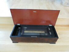 Antique Swiss music Box 24 inch box working See Video
