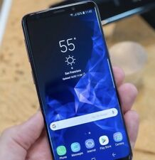 Samsung Galaxy S9 SM-G960 - 64GB-Negro Medianoche (Desbloqueado) condición prístina