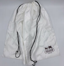 """Coach Leatherware Large Purse Draw String Dust Cover 23"""" X 19"""""""