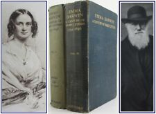 1915*EMMA DARWIN:A CENTURY OF FAMILY LETTERS*w/CHARLES DARWIN'S CORRESPONDENCE