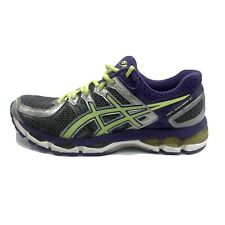 Asics Gel-Kayano 21 Purple/Silver Athletic Running Training Shoes T4H7N Size 10