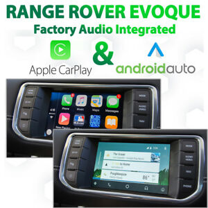 Range Rover Evoque - Apple CarPlay & Android Auto Integration