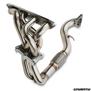 STAINLESS EXHAUST MANIFOLD & 6 BOLT DOWNPIPE FOR ROVER MG TF MGTF 1.6 1.8