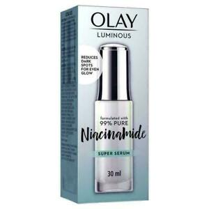 Olay Luminous Niacinamide Hyaluronic Super Serum Intensely Hydrates Glow 30ml