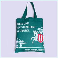 Holsten Stoff Einkauf Trage Tasche Beutel Büttel Neu & OVP Hamburg Hafen Skyline