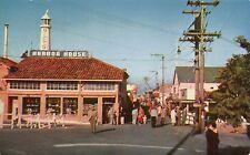 CA - 1950's Harbor House Restaurant at Fisherman's Wharf in Monterey, CALIFORNIA