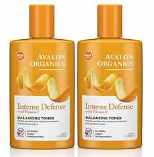 AVALON ORGANICS Vitamine C équilibre tonique 250ml - Intense Défense (paquet de