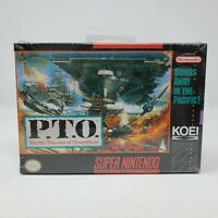 P.T.O.: Pacific Theater of Operations Super Nintendo Entertainment System SNES
