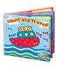 "Bath Book Baby Waterproof Floating Educational & Fun Bath Toy ""First Steps"""