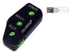 Champro Sports Baseball / Softball 3-Dial Umpire Indicator - Balls Strikes Outs