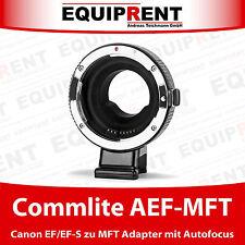 Commlite Comix cm-AEF-MFT Canon EF/EF-S à MFT autofocus Adaptateur (eqh91)