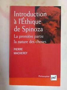 Introduction à l'éthique de Spinoza - première partie, la nature des choses