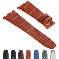 DASSARI 27mm Croc Leather Strap 42mm AP Audemars Piguet Royal Oak Offshore
