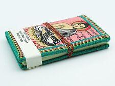 Recycling Zeitschrift Tasche  Lord Buddha leer Memo Notizblock