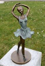 Bronzefigur Ballerina Tänzerin Dekorationsfigur Gartendekoration aus Bronze