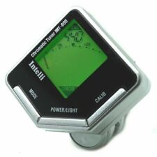 New Intelli IMT-600 Chromatic Clip-on Tuner for Guitar, Bass, Violin & More