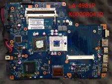 K000080430 Motherboard for Toshiba Satellite L500 L505 KSWAA LA-4981P