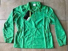 NIKE GOLF Womens Windproof/Water Resistant Half-Zip Jacket--Green-Medium-NWT