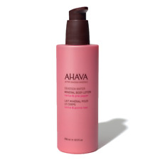 AHAVA MINERAL BODY LOTION - CACTUS & PINK PEPPER 8.5 oz