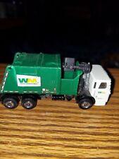 Matchbox  2008 Waste Management  Garbage Truck ( RARE ) missing back flap/ cover