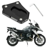 Kickstand Side Stand Enlarge Extension Plate For BMW R1200 GS Adventur Blk B4