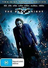 THE DARK KNIGHT (Christian Bale,Heath Ledger,Aaron Eckhart,Michael Cain) 2 DVDs