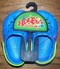 HOLEY SOLES - Critters - Periwinkle - Sz 4-5 Child / Toddler - NEW!