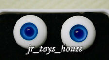 Glass Eye 14mm MD Dark Blue fits SD Super Dollfie DOC LUTS 1/4-1/6 BJD