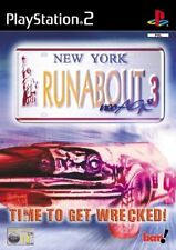 JEU Sony PLAYSTATION 2 PS2 : RUNABOUT 3 NEO AGE Courses (Neuf sous blister) Rare