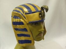 Egyptian Headpiece  Pharaoh  King   Latex  Hat  NEW
