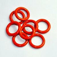 Tube Dampers Silicone O-Ring fit 12AX7 12AU7 12AT7 12BH7 EL84 20pcs for tube amp