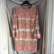 Vero Moda Pink Flower Dress Size M 12