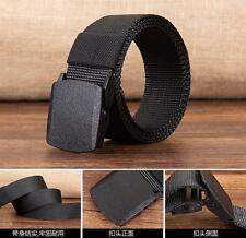Men's Casual Outdoor Military Tactical Polyester Waistband Canvas Web Belt