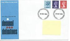GB - FIRST DAY COVER - FDC - DEFINITIVES -1973 - 3 vals to 8p - Pmk PB