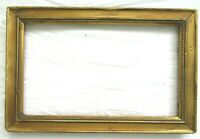 "SM Antique Fit 6X10"" Gold Picture Frame Wood Gesso Fine Art MINIATURE COUNTRY"