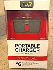 iFrogz Golite Traveler 9000mAh Portable Battery Phone Charger 2 Ports - Pink Red