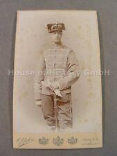 107925, Portraitfoto, Husar, Husaren Regiment 16, HR 16, Pelzmütze Attila Säbel