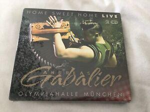 NEUE DOPPEL CD ANDREAS GABALIER - HOME SWEET HOME LIVE I sing a Liad für Di OVP.