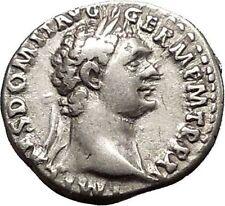 DOMITIAN son of Vespasian Silver Ancient Roman Coin Athena Minerva Cult i51171